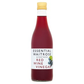 essential Waitrose red wine vinegar