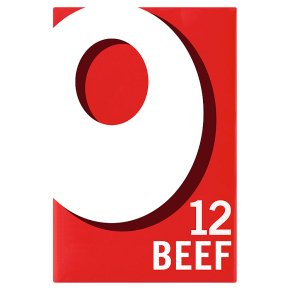 Oxo 12 stock cubes beef