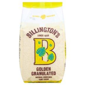 Billington's natural golden granulated sugar
