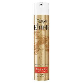 Elnett normal strength hairspray