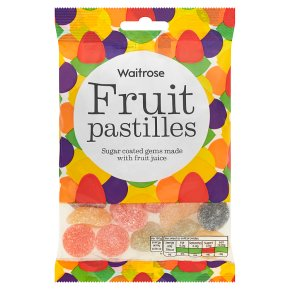 Waitrose fruit pastilles