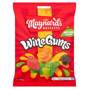 Maynards Bassetts Wine Gums Sweets Bag