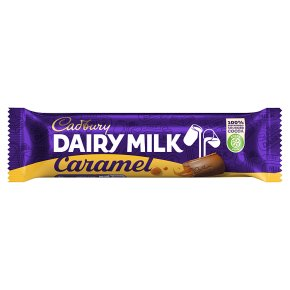 Cadbury Dairy Milk caramel chocolate bar