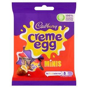 Cadbury Creme Egg Minis Chocolate Eggs Bag