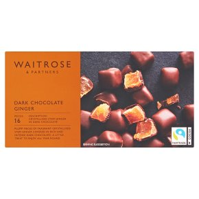 Waitrose chocolate ginger
