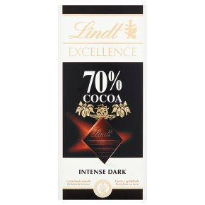 Lindt Excellence Dark Chocolate 70% Cocoa