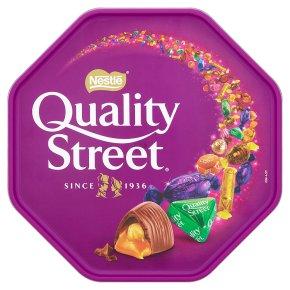 Quality Street milk chocolate tin