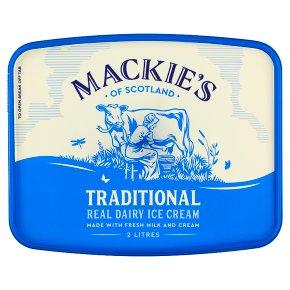 Mackie's traditional luxury dairy ice cream