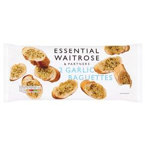 essential Waitrose Garlic Baguettes