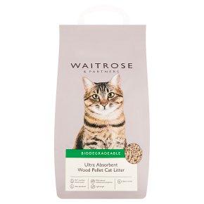 Waitrose cat litter wood pellets
