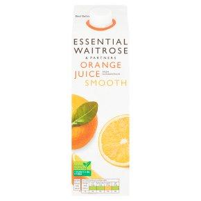 essential Waitrose smooth orange juice