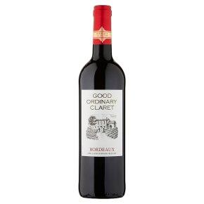 Waitrose Good Ordinary Claret, Merlot, French, Red Wine
