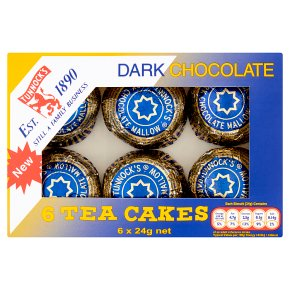 Tunnock's dark chocolate tea cakes