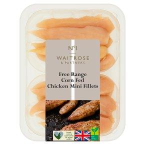 Waitrose 1 Free Range British chicken mini fillets