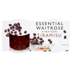essential Waitrose Italian tiramisu