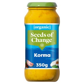Seeds of Change organic Indian korma sauce