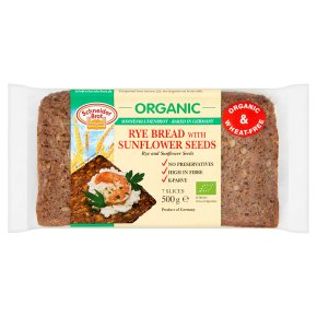 Schneider Brot organic rye & sunflower seed bread
