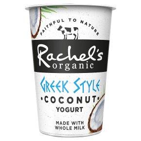 Rachel's organic Greek style coconut yogurt