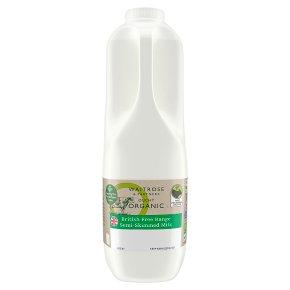 Waitrose Duchy Semi-Skimmed Milk