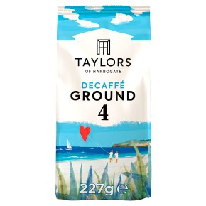 Taylors Decaffe rich roast coffee