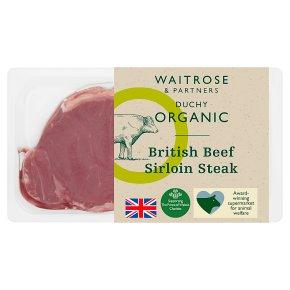 Duchy from Waitrose British beef sirloin steak