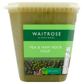Waitrose pea & ham soup