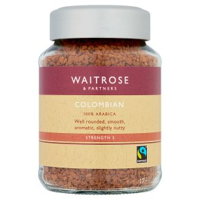 Waitrose Colombian freeze dried coffee