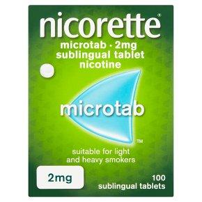 Nicorette Microtab 2mg Tablets
