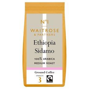Waitrose 1 mocha sidamo 100% arabica ground coffee