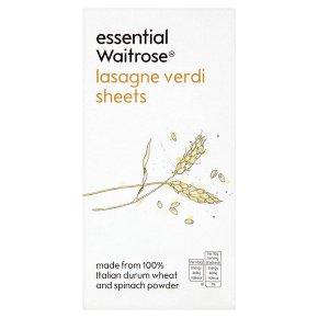 essential Waitrose lasagne verdi