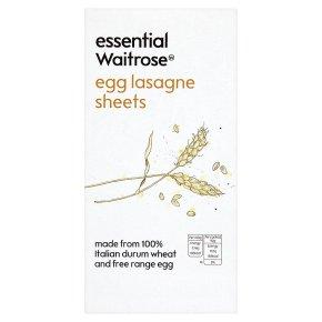 Waitrose egg lasagne