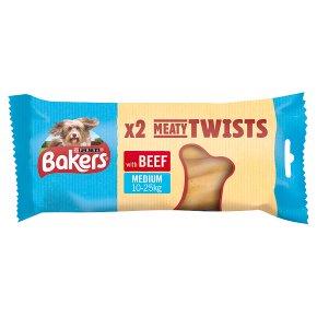 Bakers Beef Meaty Twists 2s