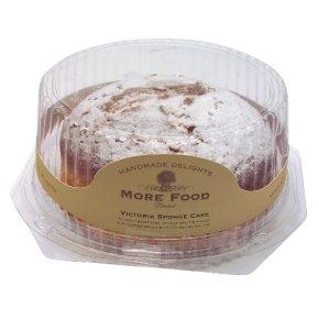 More Food Victoria sponge cake