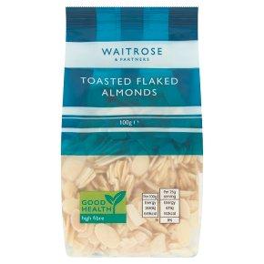 Waitrose toasted flaked almonds