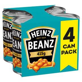 Heinz Baked Beanz, 4 pack