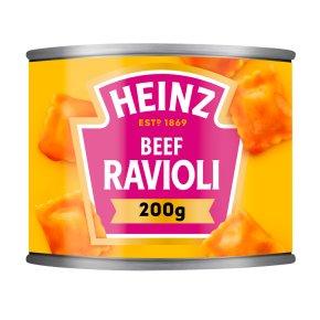 Heinz ravioli beef in tomato sauce