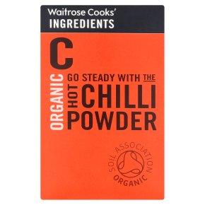 Waitrose Cooks' Ingredients organic hot chilli powder