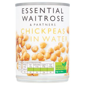 Essential Chick Peas in Water