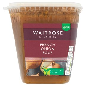 Waitrose French onion soup