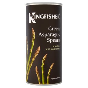 Kingfisher canned  asparagus spears