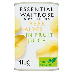 Essential Pear Halves in Fruit Juice
