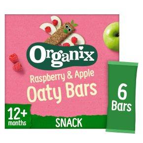 Organix organic raspberry & apple goodies bars