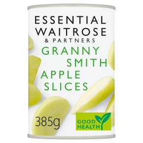 essential Waitrose Apple Slices (in fruit juice)