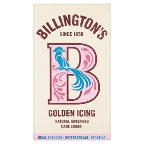 Billington icing sugar golden