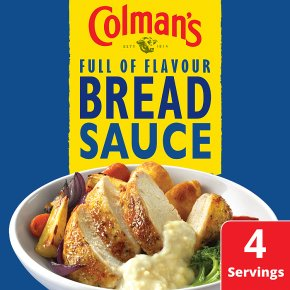 Colman's bread sauce mix