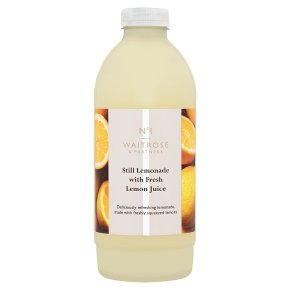 Waitrose 1 freshly squeezed still lemonade