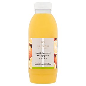 No.1 Orange Juice with Bits