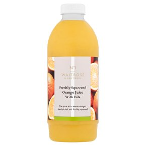 No.1 Freshly Squeezed Orange Juice with Bits