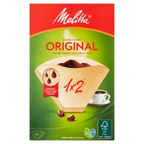 Melitta filter papers 2 cup