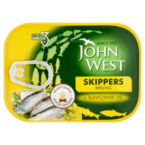 John West Skippers in Sunflower Oil